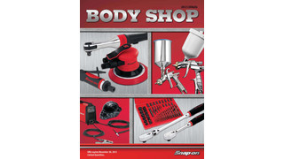Snap-on body shop catalog offers business building tools and accessories