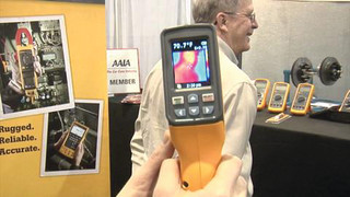 Wrenchin Roger at AAPEX 2012: Fluke thermal imager