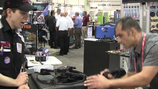 Wrenchin Roger at AAPEX 2012: Shark Industries plastic welder