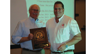 Automotive Lift Institute elects officers, honors outgoing chairman