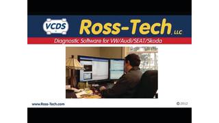 Ross-Tech VCDS diagnostic software video