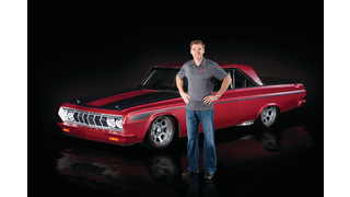 Ray Evernham unveils muscle car with Sherwin-Williams paint