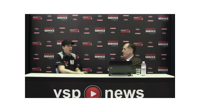 AAPEX 2012 Live Stream: Wrenchin Roger discusses new diagnostic tool functions