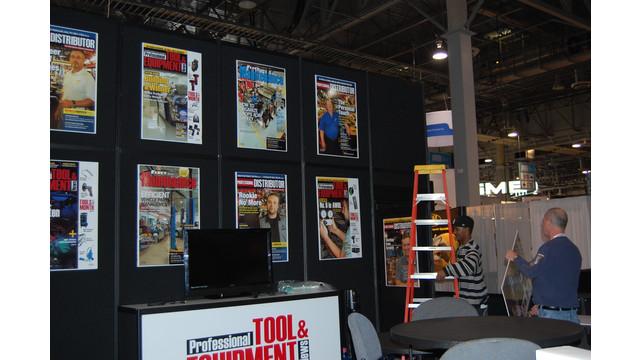 AAPEX2012-PTEN booth setup.JPG