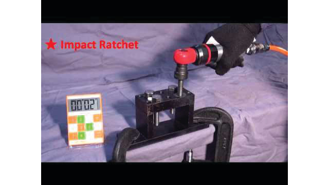 SP Air 3/8 Air Impact Ratchet Wrench Video