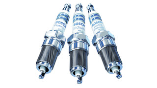 Double platinum and fine wire spark plugs