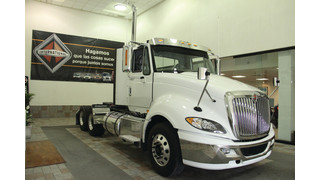 Navistar's first International Prostar+ rolls off assembly line