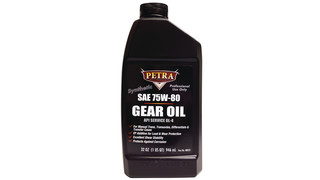Sync 75W80 high performance gear lubricant, No. 88032