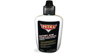 Battery acid cleaner & leak detector, No. 9020