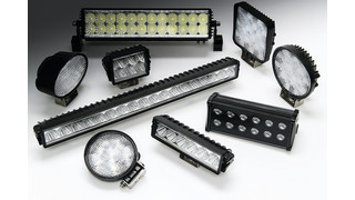 High powered LED light bars and auxiliary lights