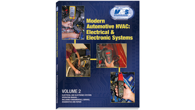 Modern Automotive HVAC: Electrical and Electronic Systems textbook