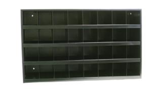 Scoop Front Bin Cabinets