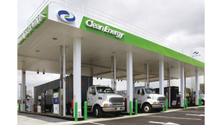 Clean Energy completes first stage of 'natural gas highway' for trucking