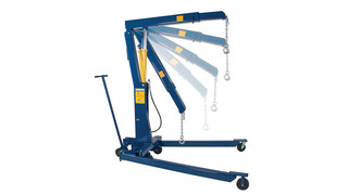 2-ton foldable engine crane, No. HW93809