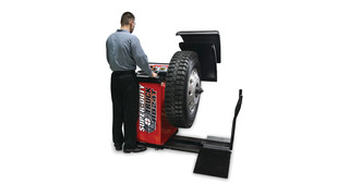 Heavy duty RB24T wheel balancer