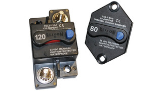 Switchable thermal circuit breakers, Nos. SDLS and FDLS