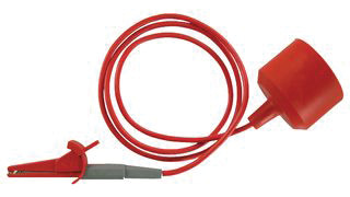 motorcycle and ATV jump lead/vehicle computer memory saver lead, No. 126104