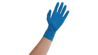 Blue Lightning Gloves