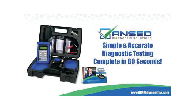 ANSED Diagnostic Solutions Gas Analyzer Video