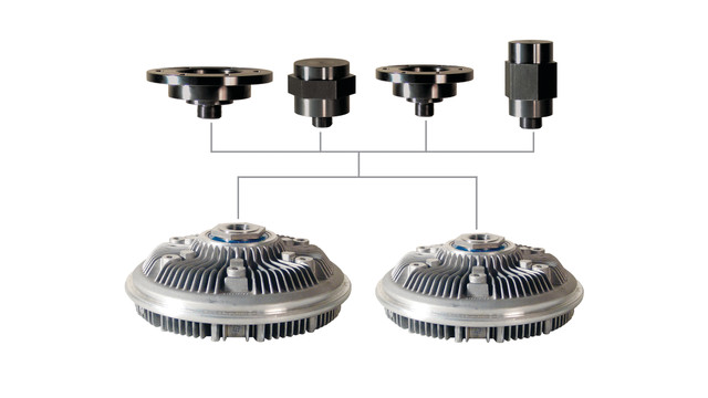 Spectrum Modular Viscous Fan Clutch System