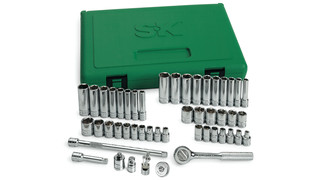 48-piece 1/4 Drive 6-Point Socket Set, No. 91848