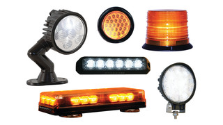LED truck, trailer and safety lighting options available from Buyers Products