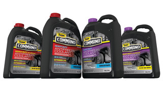 Command heavy duty antifreeze/coolants