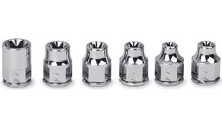 1/4 Drive Torx Low Profile Socket Set No. 106RTLE