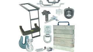 Complete line of truck and trailer hardware