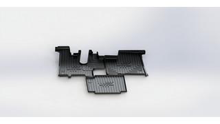 Custom floor mat