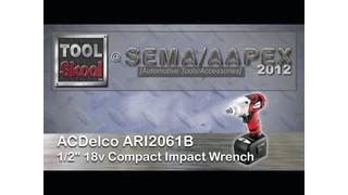 ACDelco ARI2061B 1/2 18V Impact Wrench Video