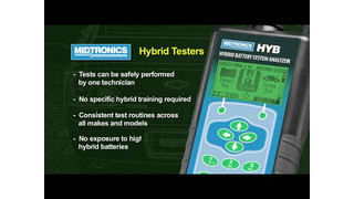 Midtronics HYB-1000 Hybrid Battery Tester Video