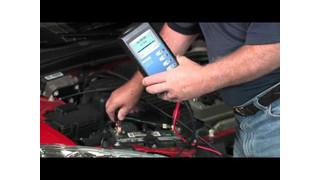 Midtronics MDX-640 Battery Test Video