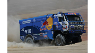 2013 Dakar Rally-winning trucks used WABCO technology