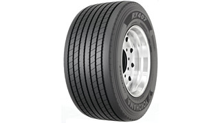 RY407 ultra wide base trailer tire