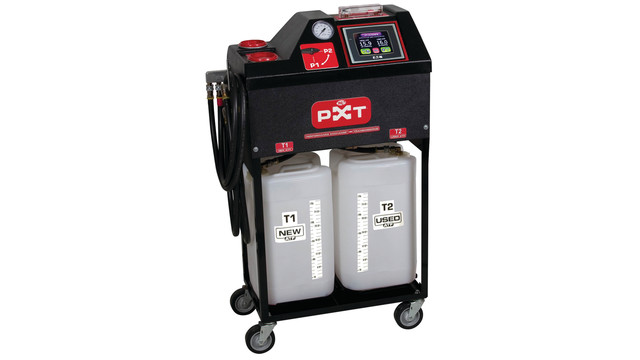 PXT touch screen transmission flush machine