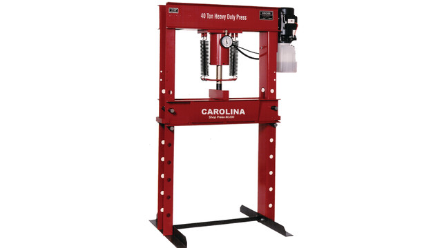 40-Ton Capacity Electric Shop Press