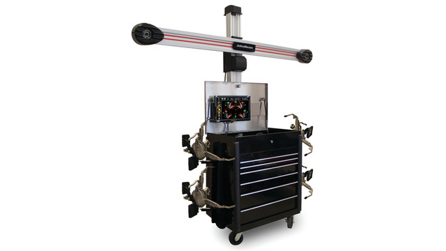 V3D1 X-Cel Toolbox with AC400 Touchless Alignment Wheel Clamps