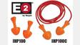 E2 Paddle Plug Earplugs, Nos. IHP100 and IHP100C