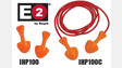 E2 Paddle Plug Earplugs, Nos. IHP100 and IHP100C