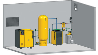 Opportunities for enhancing compressed air system performance