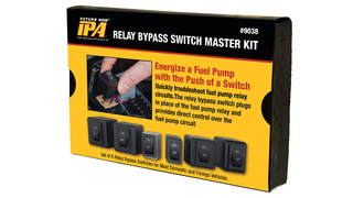 Master Relay Bypass Set, No. 9038