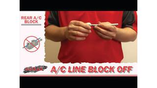 S.U.R.&R. A/C Compression Block Off Kit Video