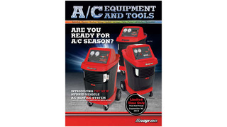 2013 Snap-on A/C Equipment and Tools Catalog