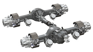 Spicer Pro-40 tandem axles now available through Kenworth, Peterbilt data books