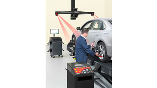 New HawkEye Elite alignment system approved by Volkswagen Audi Group
