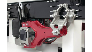 Mack Twin Y and Mack mRIDE suspensions debut