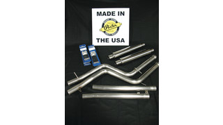 Cat-back exhaust system for the 2009-13 Dodge Challenger 5.7 HEMI