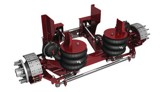 Tru-Track trailer axles