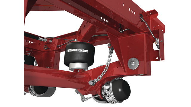 Hendrickson introduces industry's first shockless air suspension